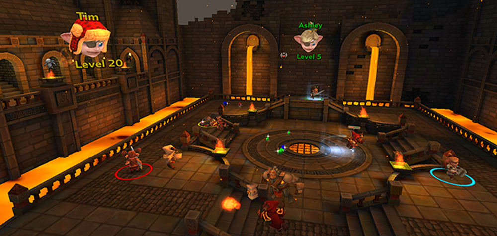 Le jeu Herobound: Gladiators