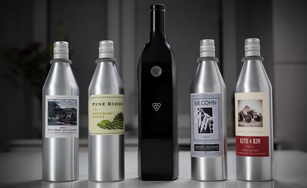 La bouteille de vin connectée Kuvée