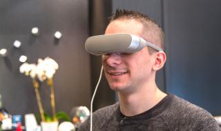 Le casque de réalité virtuelle LG 360 VR