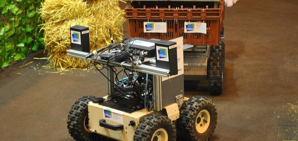 Le drone agricole de l'IRSTEA