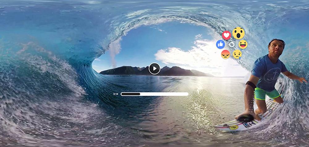 Les réactions Facebook sur Oculus Video