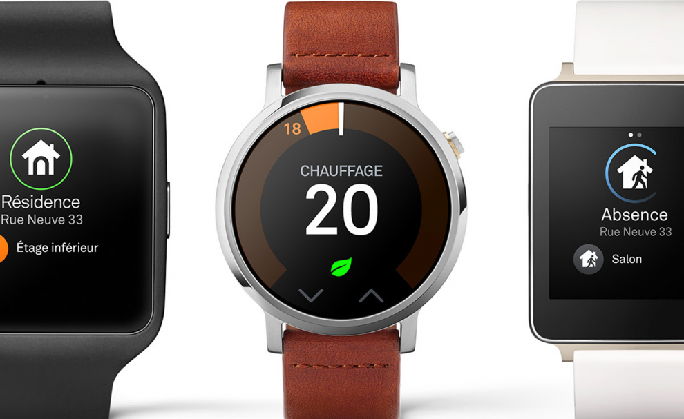 Nest sur Android Wear