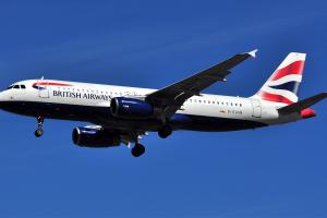Un A320 de la British Airways