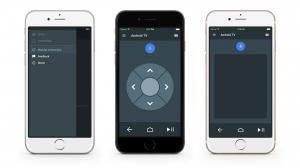 L'app Android TV sur iOS