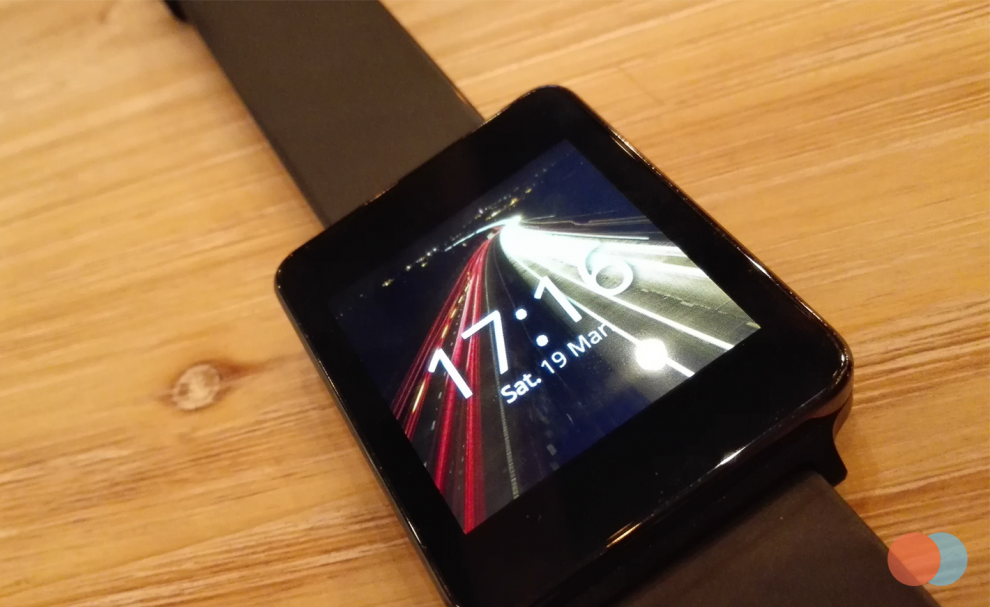 AsteroidOS sur la LG G Watch