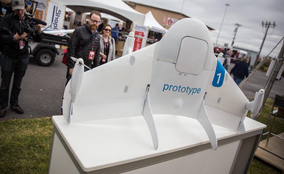 Un drone du Project Wing