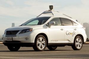 Un des prototypes de la Google Car