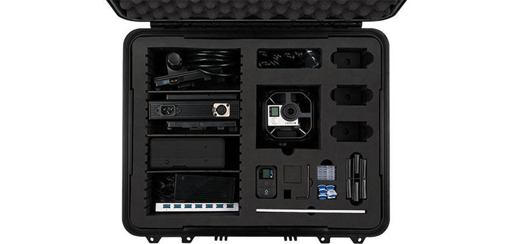 Le kit GoPro Omni