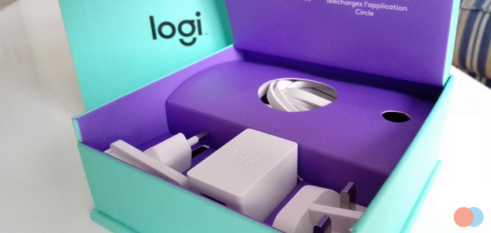 Le matériel de la Logi Circle