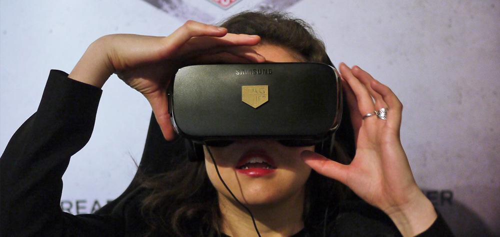 Le casque VR de TAG Heuer à BaselWorld 2016