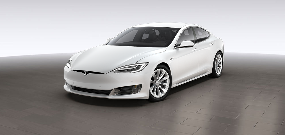 voici la nouvelle tesla model s  version 2016