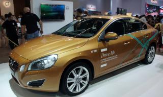 Une voiture autonome de Volvo