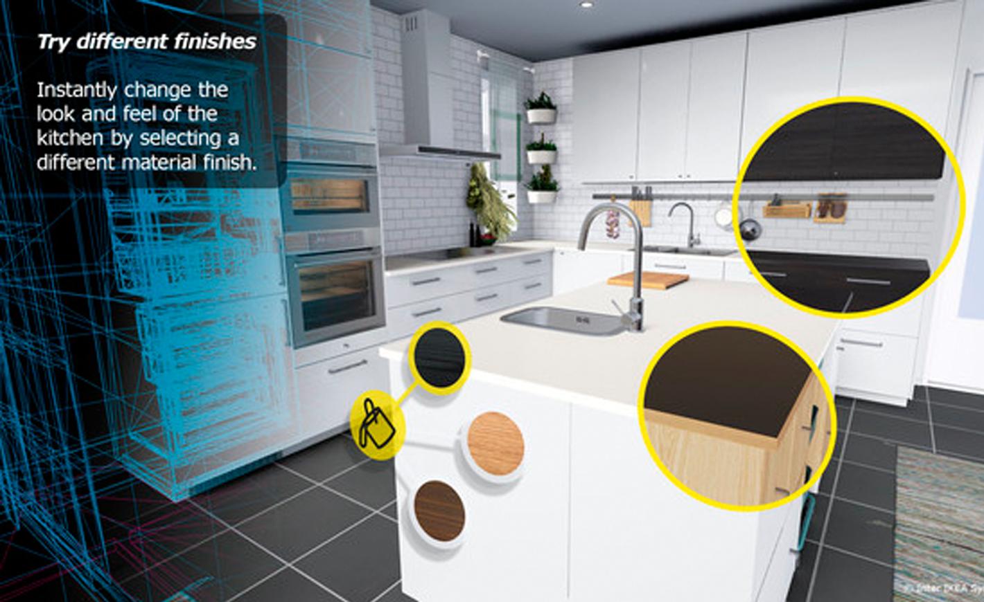 ikea vous fait d couvrir ses produits en r alit virtuelle. Black Bedroom Furniture Sets. Home Design Ideas