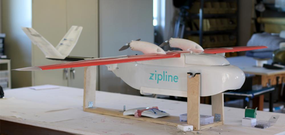 Le drone ZIP