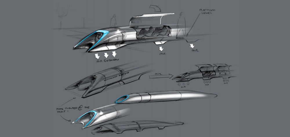 L'Hyperloop d'Elon Musk