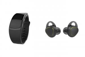 Le Gear Fit 2 et les Gear Icon X