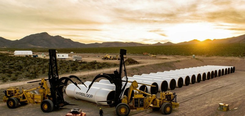 Les tubes de Hyperloop One