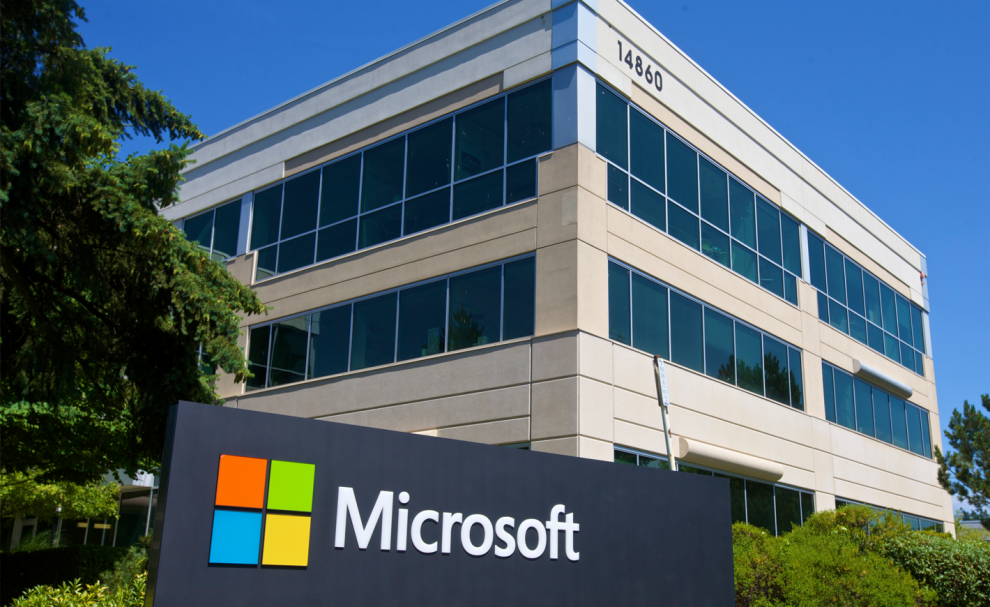 Les locaux de Microsoft