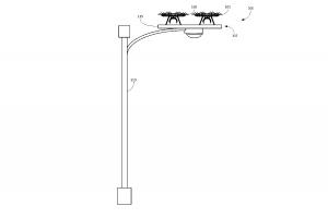 Un dessin du brevet de plateforme d'Amazon