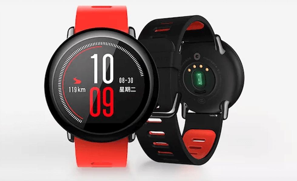 xiaomi pr sente sa nouvelle montre connect e l 39 amazfit watch. Black Bedroom Furniture Sets. Home Design Ideas