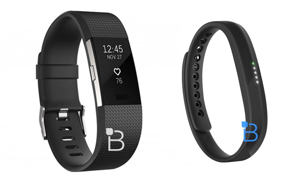 Le Fitbit Charge 2 et le Fitbit Flex 2