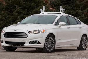 La Ford Mondeo autonome