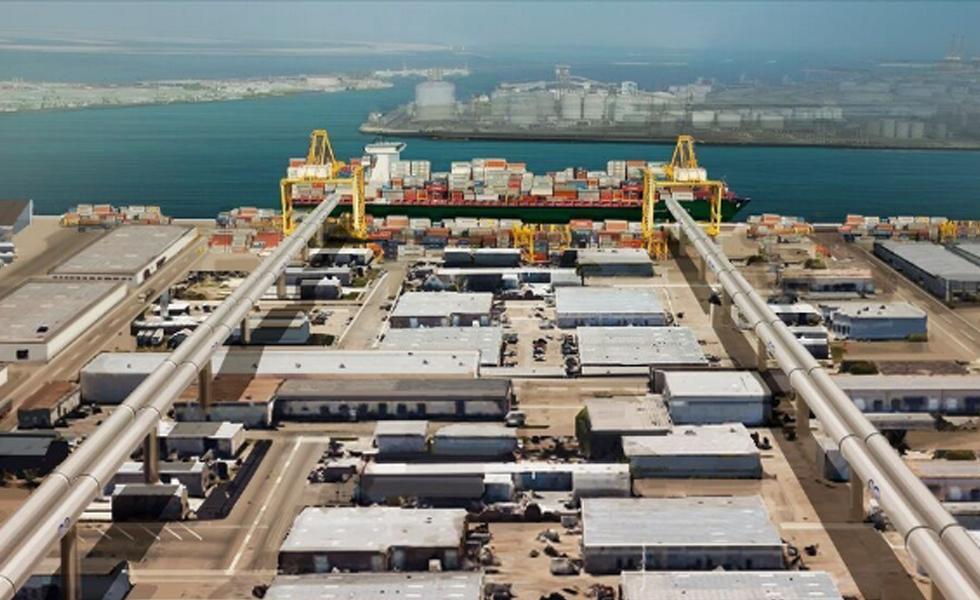 Le port de Jebel Ali