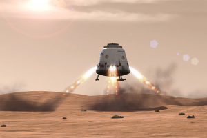 SpaceX sur Mars