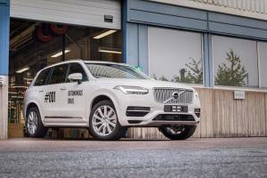 Volvo XC90 autonome