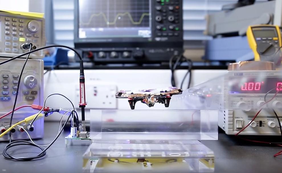 Drone sans batterie