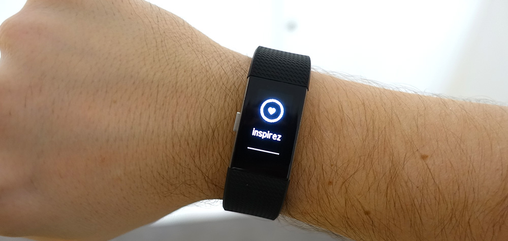 Relaxation Fitbit Charge 2