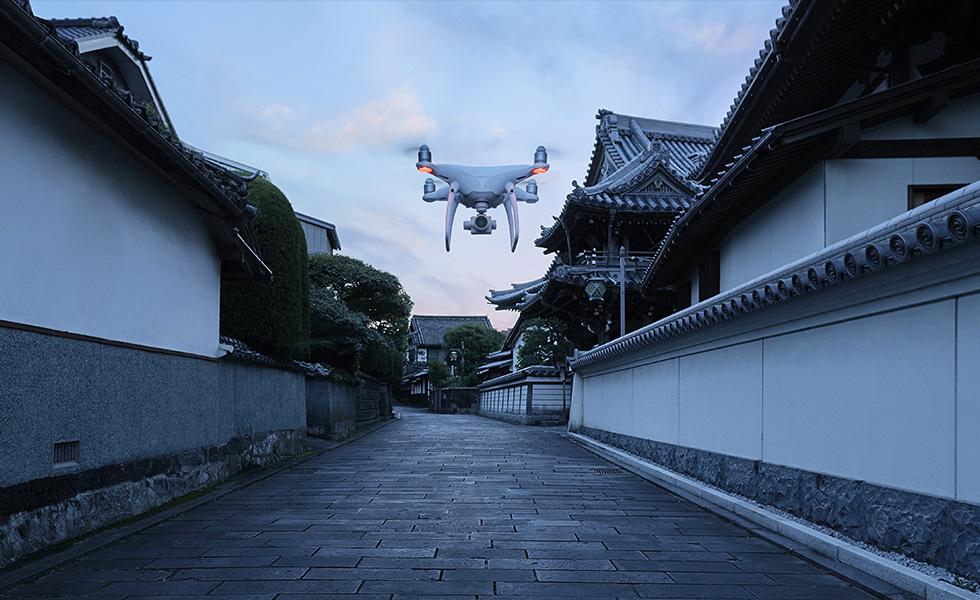 DJI présente son nouveau drone Phantom 4 Pro, et il est impressionnant
