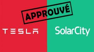 Fusion entre Tesla et SolarCity