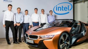 Alliance entre Intel Mobileye et BMW