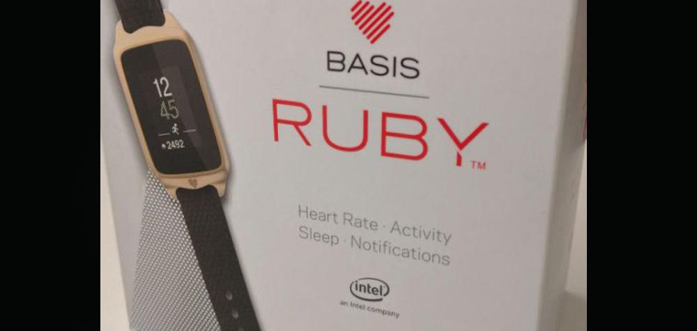 Montre connectée Basis Ruby