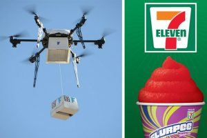 7-Eleven livre par drone