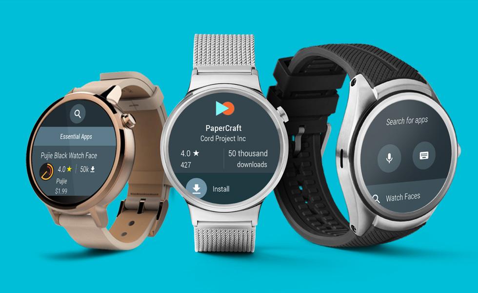 Montres connectées : Android Wear 2.0 arrivera d'ici un mois