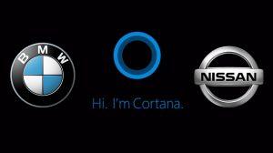 Cortana chez Nissan et BMW