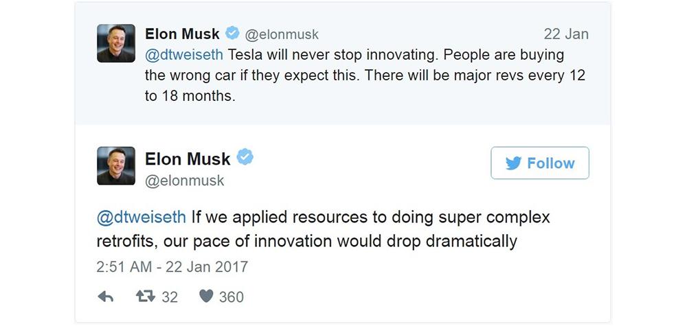 Elson Musk sur Twitter