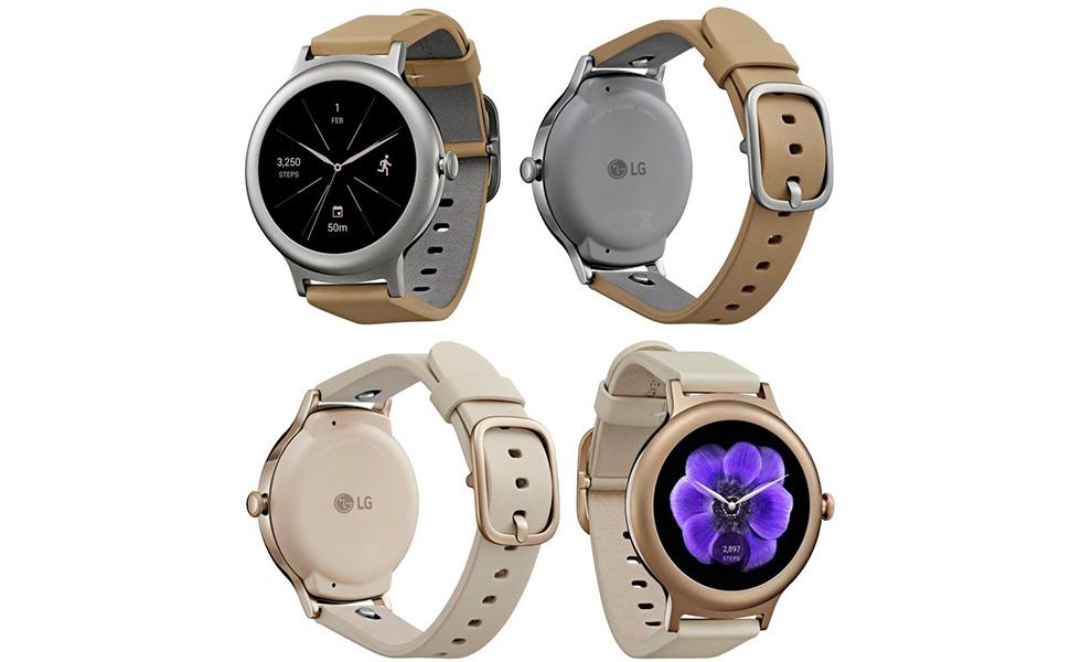 La montre sous Android Wear 2.0 en images — LG Watch Style