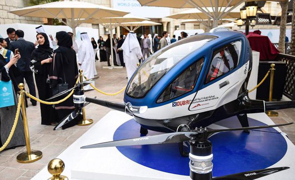Bientôt des Taxis drones à Dubaï