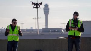 Les drones 3DR à l'aéroport d'Atlanta
