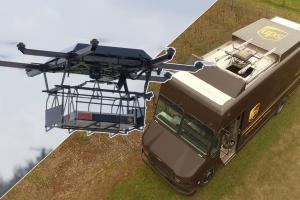 UPS livraison par drone