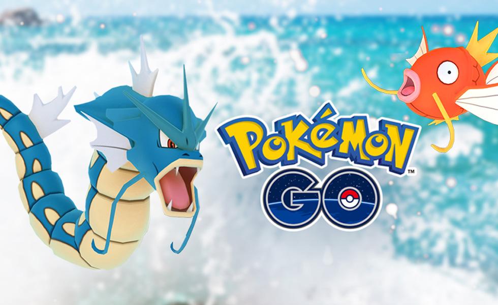 Evenement aquatique Pokémon GO