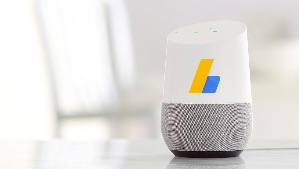 Google Home Publicité