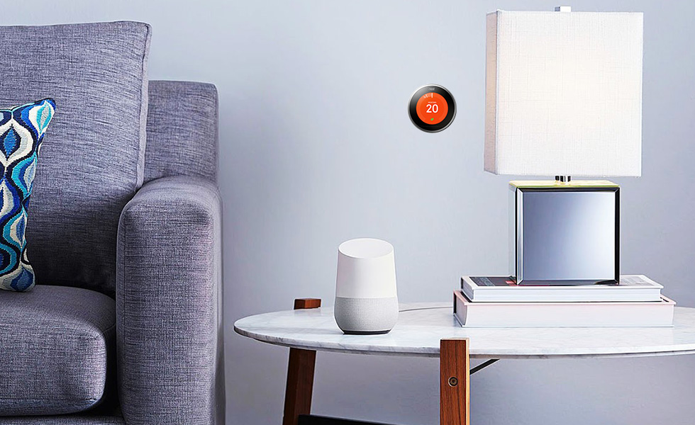 how to connect nest with google home