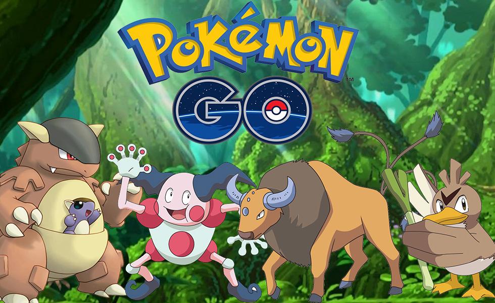 Pokémon GO Regional