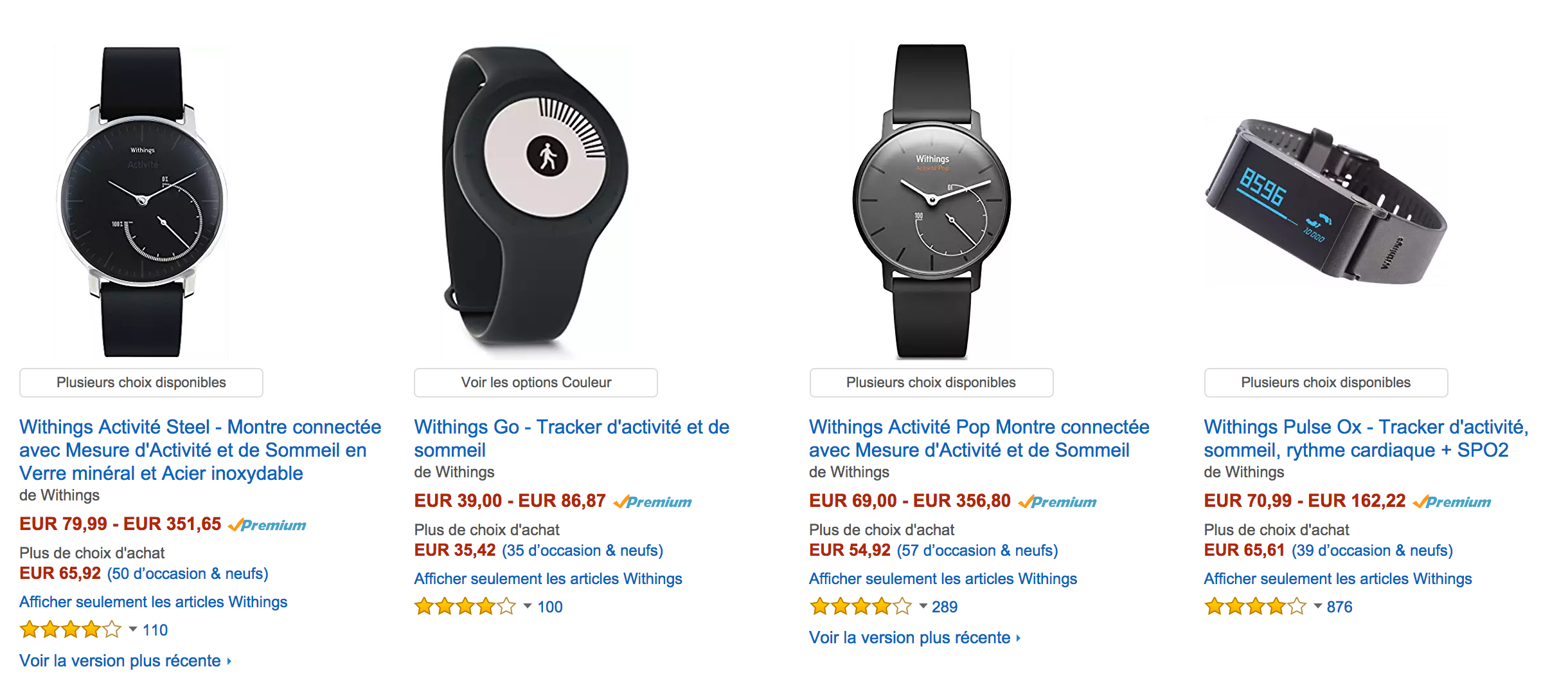 Vente Flash Withings