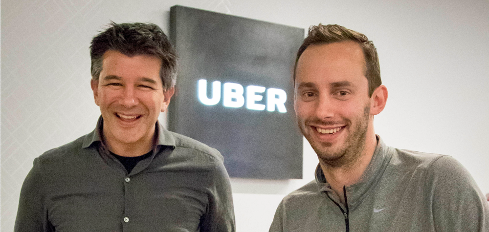 Anthony Levandowski et Travis Kalanick