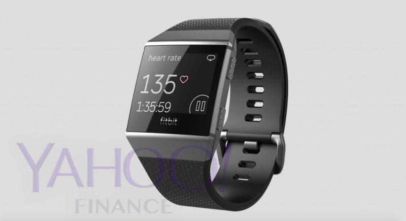 Fitbit Smartwatch Noir